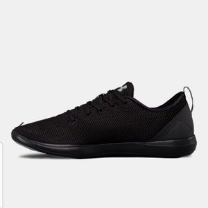 Under armour sneakers 8.5 black new in box women